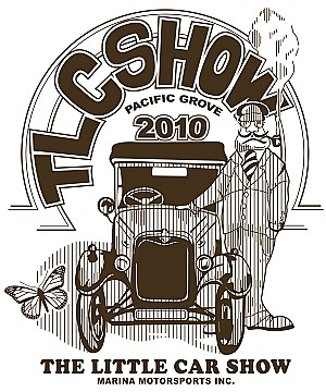 2010 The Little Car Show Poster