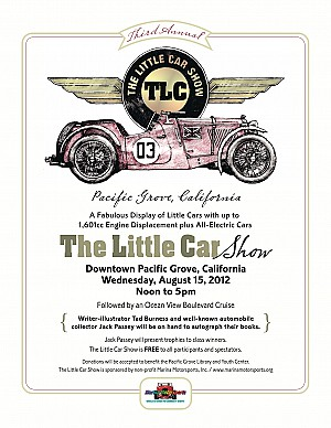 2012 The Little Car Show Poster