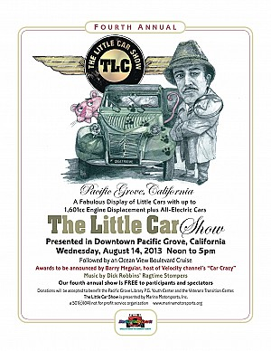 2013 The Little Car Show Poster