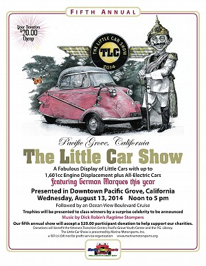 2014 The Little Car Show Poster