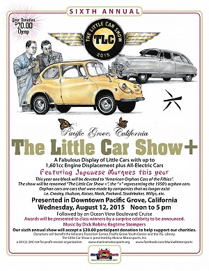 2015 The Little Car Show Poster