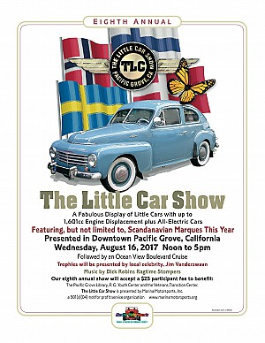 2017 The Little Car Show Poster