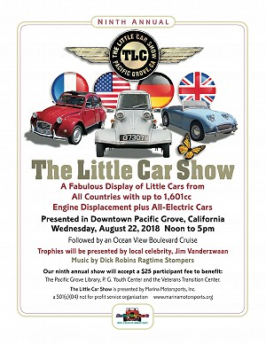 2018 The Little Car Show Poster